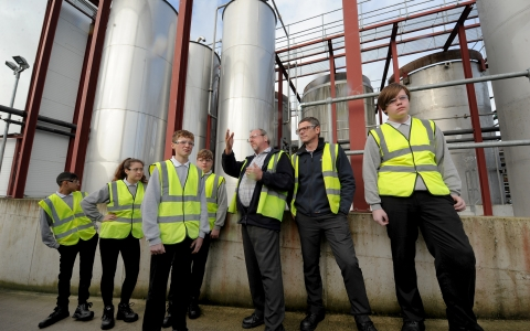 Chemical industry doors opened to students